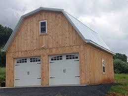 an idea of the exterior with 2 garage doors