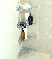 shower tension rod outstanding stainless steel corner pole caddy neverrust stain