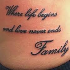 Tattoo Spruch Familie Einzigartig 69 Meaningful Family Tattoos