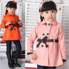 spring and autumn baby girl leather trench coat kids girl fashion coat double ted girls jacket overcoat children outerwear