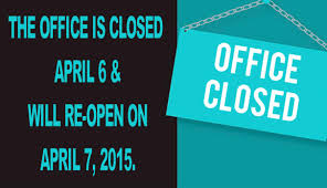 Closed Signs Template Office Closed Sign Template Sinma Carpentersdaughter Co