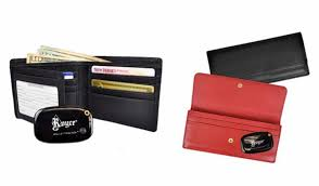 leather wallets equipped with gps tracking thief proof technology
