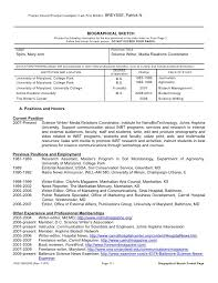 Nih Resume Format Omfar Mcpgroup Co