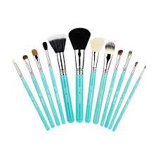 cool makeup brushes. sigma beauty 12 brush kit make me cool in aqua makeup brushes a