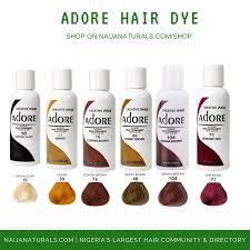 Adore Hair Dye