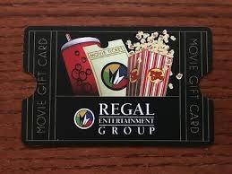 Regal Cinemas Gift Card 25 00 Movie Gift Card 25
