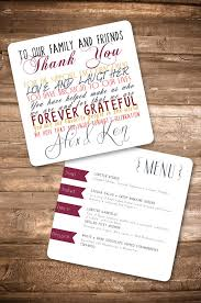 menu card with thankyou message by inkbardesigns on etsy, $20 00 Wedding Countdown Messages menu card with thankyou message by inkbardesigns on etsy, $20 00 Wedding Countdown Printable