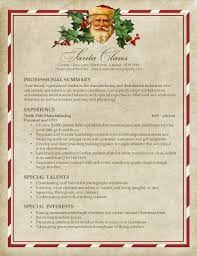 Santa's Resume | Pongo Blog