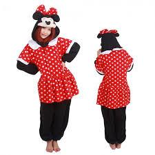 Kigurumi Onesie Size Chart Minnie Kigurumi Onesie Pajamas Animal Costumes For Adult