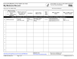 Medication Logs 40 Great Medication Schedule Templates Medication Calendars