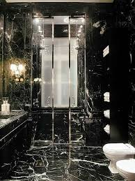 Black Marble Bathroom Model