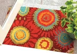 red outdoor rug rugs indoor modern entry area