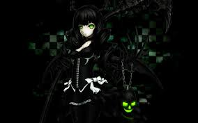 45+] Dark Anime Girl Wallpaper on ...