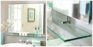 frameless beveled mirror. Unframed Bathroom Mirrors Lovely Stunning Wall Frameless Beveled Mirror .