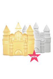 Fairy Castle Night Light Childrens Fairy Castle Light White Rabbit England