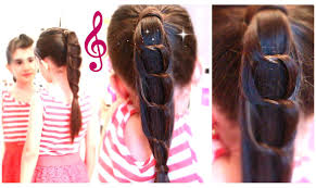 Quick Cute Ponytail Hairstyles Unique Knotted Chain Ponytail Sophisticated High Ponytail Cute