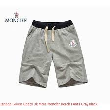 Canada Goose Coats Uk Mens Moncler Beach Pants Gray Black – Shop canada  goose montebello parka online store Cheap canada goose on sale for outlet
