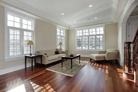 this room s hardwood floor is truly the cherry on top rich dark cherry wood floors make this room feel both luxurious and comfortable