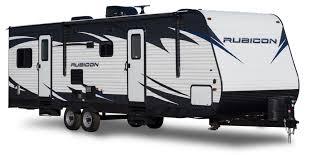 dutchmen rv rubicon toy hauler travel trailers