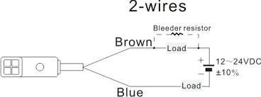 f3n series rectangle proximity sensors proximity sensors sensors 4 Wire Proximity Sensor Wiring at 2 Wire Proximity Sensor Wiring Diagram