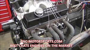 615+ Horsepower SB Chevy 427 Crate Engine by CNC-Motorsports - YouTube