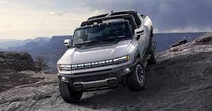 Gmc Hummer Ev Revealed Promises Wrangler Beating Off Road Ability Zero Emissions For 112 595 Hummer Pickup Hummer Electric Cars