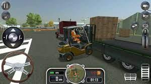 Trò chơi lái xe nâng và xe ô tô chở hàng|game cho trẻ em