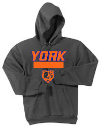 York Football 2019 Hoodie Required