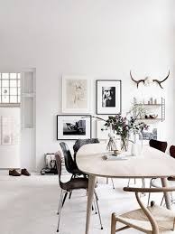 Dining Room: Black And White Dining Room Gallery Wall - Dining Room Wall