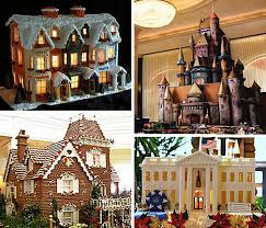 Astounding Architectural Designs of Gingerb Houses   Urbanistgingerbreadmontage