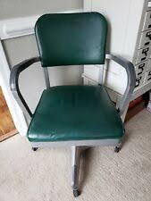 Vtg 1940 50s simmons furniture metal medical Dresser Vintage Mid Century Steel Metal Swivel Industrial Green Desk Office Arm Chair Decaso Steel Antique Chairs 19001950 Ebay