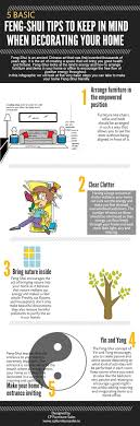 infographic feng shui. 5 BASIC FENG-SHUI TIPS TO KEEP IN MIND WHEN DECORATING YOUR HOME Infographic Feng Shui N
