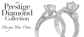 the prestige diamond collection design your own enement rings