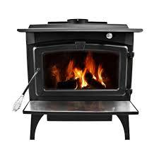 epa certified wood burning stove with medium blower