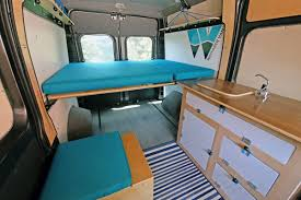 wayfarer vans makes reasonably d kits for two diffe types of camping vans courtesy of wayfarer