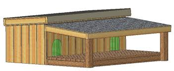 Custom Made Insulated DOG House Plans Dual Large DOG Cold Weather    doghouse plans  doghouse plans  doghouse plans