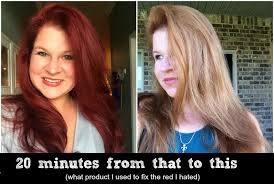20 minute fix what you can use to fix a hair dye gone horrible wrong