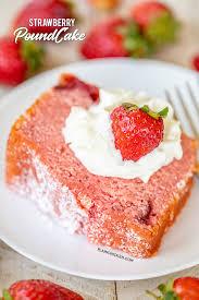 Strawberry Pound Cake Plain Chicken