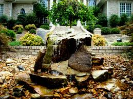 bubbling rock fountain images water fountains outdoor
