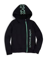 under armour zip up jacket. under armour girls\u0027 surge asymmetric zip hoodie - sizes xs-xl up jacket