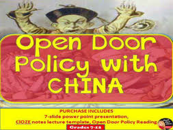 open door policy imperialism. Open Door Policy With China -Imperialism (U.S. History) Open Door Policy Imperialism