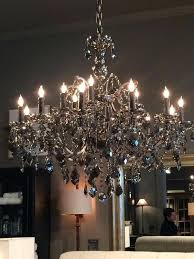 awesome replies retweets likes with smoke crystal chandelier restoration hardware welles round