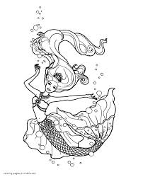 Small Picture Barbie Princess Coloring Pages To Print Coloring Pages