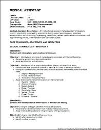 Example Of Resumes For Medical Assistants Examples Of Medical Assistant Resume Medical Assistant Resume