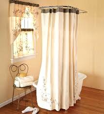 matching shower curtain and window treatment shower curtains with window curtains to match as