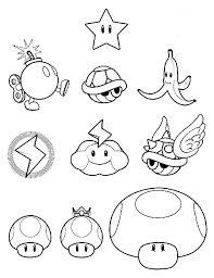 Small Picture Mario Kart Coloring Pages mario coloring pages printable