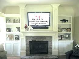put tv in front of fireplace can you put above wood burning stove putting over gas