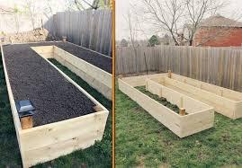 u shaped easy access raised garden design diy cozy home