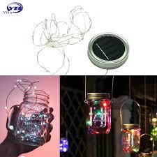 Wholesale <b>LED</b> Fairy Light Solar Powered For <b>Mason Jar</b> Lid Insert ...