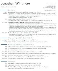 Science Resume Sample Best Of Data Science Resume Data Science Resume Sample Resume Data Science